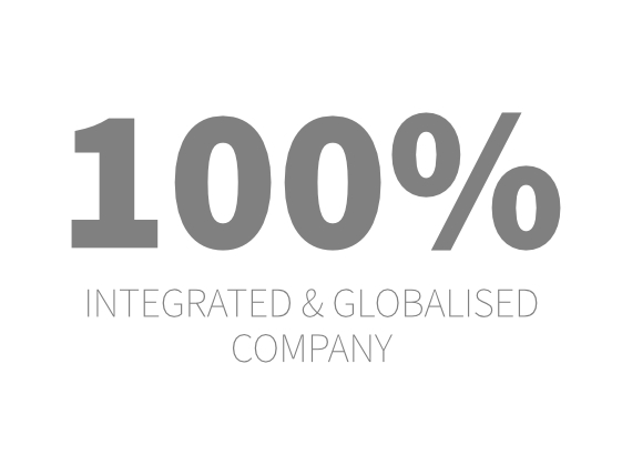 entreprise 100% intégrée et globalisée