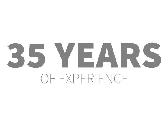 35 années d'expérience