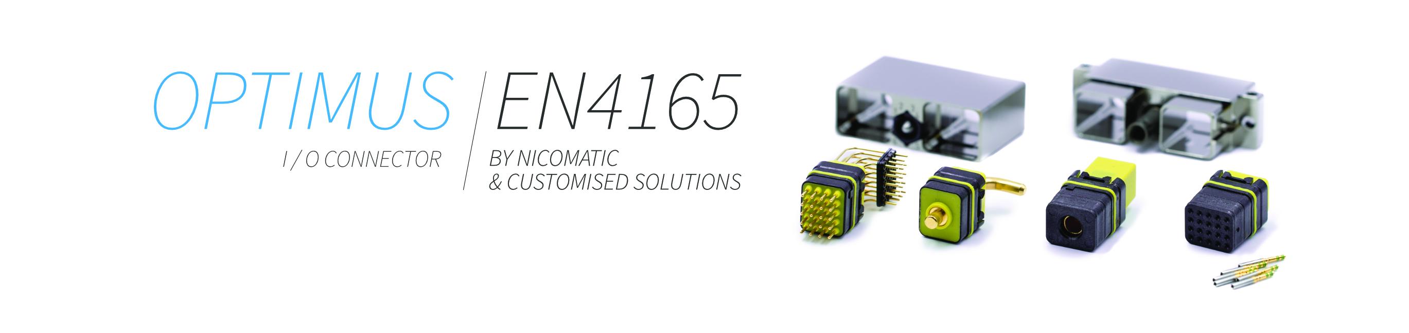 OPTIMUS / EN4165 Umweltabgeschirmte Steckverbindungen