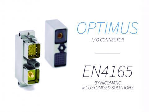 OPTIMUS / EN4165 SEALED CONNECTOR