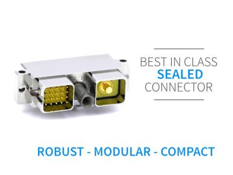 I/O sealed connector