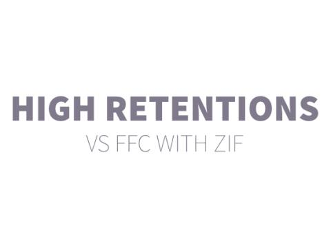 high retention vs ffc with zif