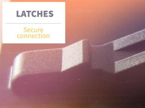 latches secure connection