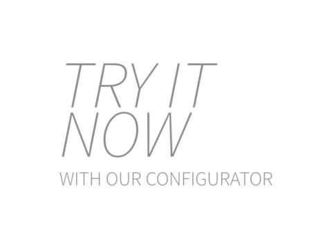 try it now our configurator
