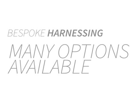 Bespoke harnessing many options available
