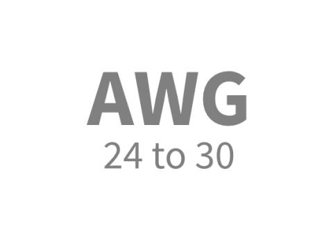 AWG 24 TO 30