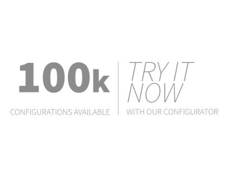 100k configurations available
