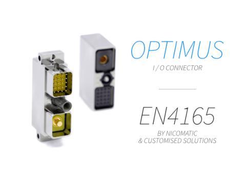 Optimus - EN4165 connector by Nicomatic