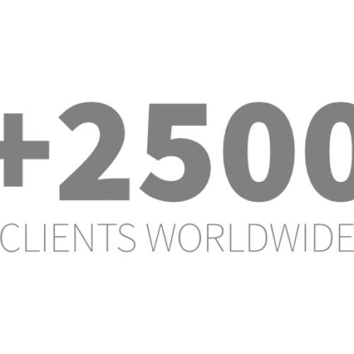 2500 clients worldwide
